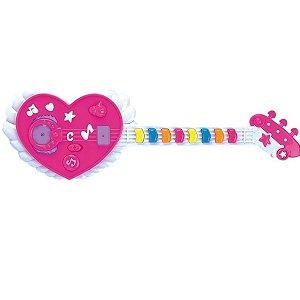 Guitarra Musical Coração
