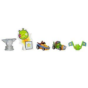 Boneco Kart Angry Birds Go! Telepods Multi-Pack - 5 Peças