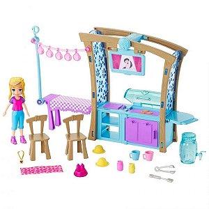 Polly Pocket Churrasco Divertido com Acessórios-  Mattel