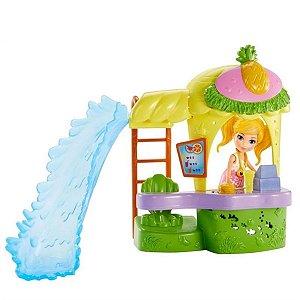 Conjunto Polly Pocket Quiosque Parque De Abacaxi -  Mattel
