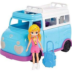 Polly Glamourosa Van De Campismo - Mattel