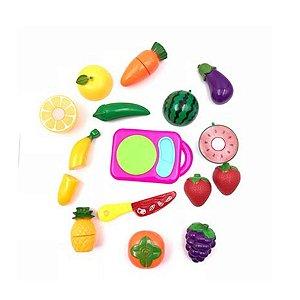 Kit Frutas Divertidas 12 Peças
