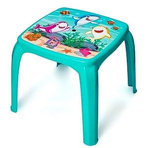 Mesa Infantil Tubarão Para Atividades - Usual
