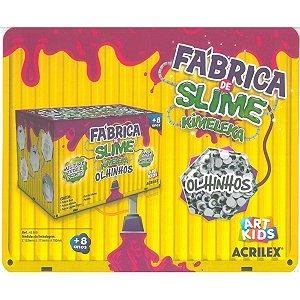 Brinquedo Fabrica De Slime Kimeleka Olhinhos - Acrilex