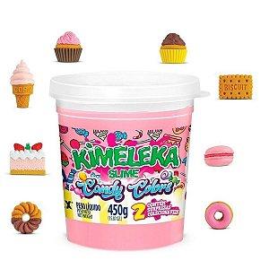 Brinquedo Kimeleka Slime Candy Colors Surpresa Acrilex