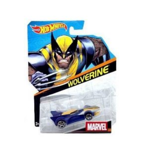 Hot Wheels Marvel Carros Wolverine - Mattel