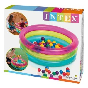 Piscina Infantil Multicolor Intex