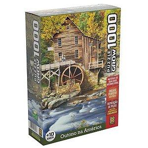 Quebra Cabeça 1.000 Peças Outono Na América