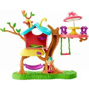 Casa Da Árvore Playset E Mini Boneca Enchantimals - Mattel