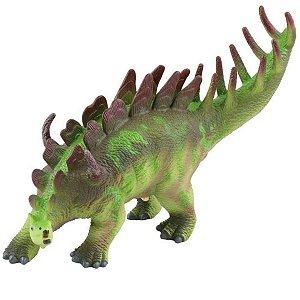 Dinossauro de Brinquedo Estegossauro de Vinil Sonoro