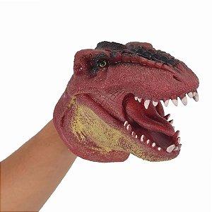 Fantoche Dinossauro Vermelho