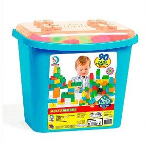 Block Box Baby Land 90 Peças