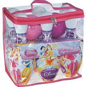 Conjunto para Boliche 8 Peças Disney Princesas