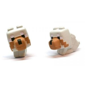 Miniatura SquishMe Minecraft Wolf