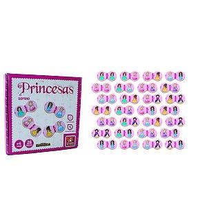 Jogo Dominó Princesas - Brincadeira De Criança