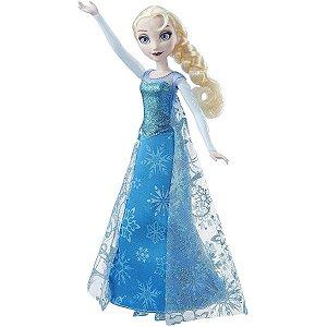 Boneca Frozen Musical Lights Elsa - Hasbro