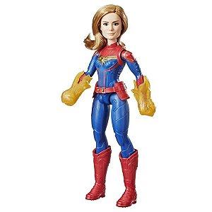 Boneca Articulada - 30Cm - Disney - Marvel - Capitã Marvel - Hasbro