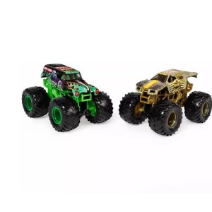Monster Jam Truck Carro Grave Digger X Max-d 1:64 Sunny 2020
