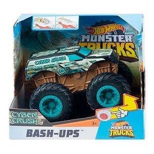 Hot Wheels Monster Trucks Cyber Crush - Mattel
