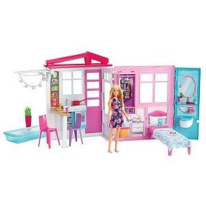 Boneca Barbie Mattel Casa Glam