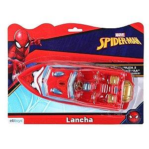 Barco / Lancha de Brinquedo Homem Aranha