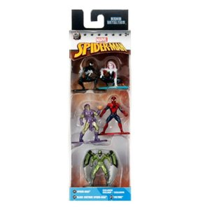 Spider-Man - Marvel - Nano Metalfigs - Pack c/ 5 Figura
