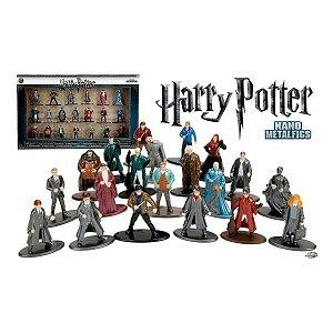 Harry Potter Coleção C/ 20 Bonecos Nano Metalfigs - Dtc