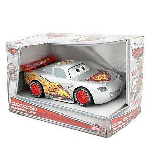 Relâmpago McQueen Fricção Carros Disney - Toyng