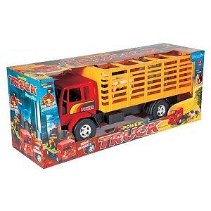 Caminhão Power Truck Cowboy com Cavalos - Diverplas