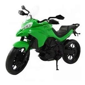 Moto Infantil Multi Motors - Pneus Borracha - Roma - Verde