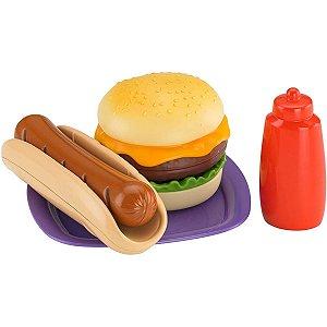 Fisher Price - Hambúrguer & Hotdog - Mattel