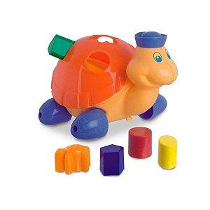 Baby Land Tartaruga Laranja - Cardoso Toys
