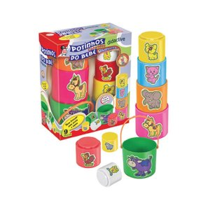 Kit Potinhos Para O Bebê Colorido - Pica-pau