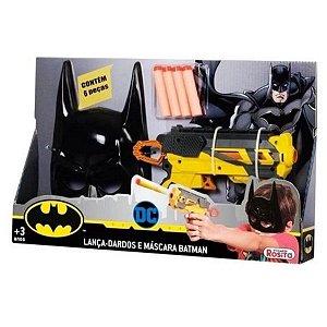 Lança Dardos e Máscara Batman