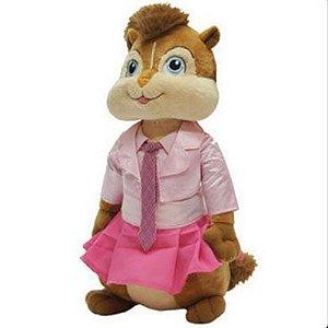 Pelúcia - Alvin e os Esquilos - Brittany Pequena