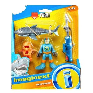 Imaginext Mergulhador De Coral