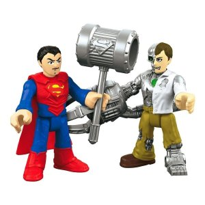 Imaginext Superman E Metallo