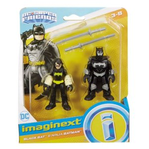 Imaginext Black Batman E Batman Ninja