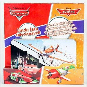 Latinha Pop-Up - Carros e Aviões Disney - Editora DCL