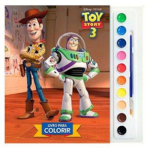 Livro Disney - Coleção Aquarela - Toy Story 3 - Dcl