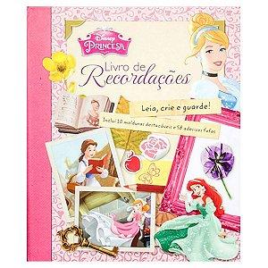 Princesas - Livro De Recordações - Dcl