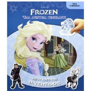 Frozen: uma aventura congelante - Meus Adesivos Divertidos - Dcl