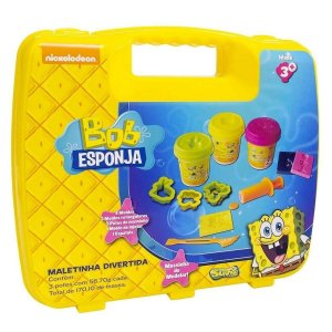 Kit Massinha - Maleta Divertida do Bob Esponja Sunny