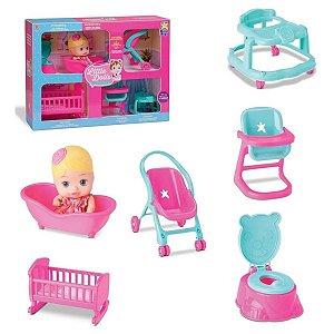 Kit Little Dolls Casinha