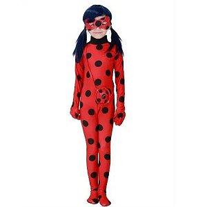 Fantasia Ladybug Infantil Completa