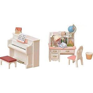 Conjunto Piano Com Escrivaninha