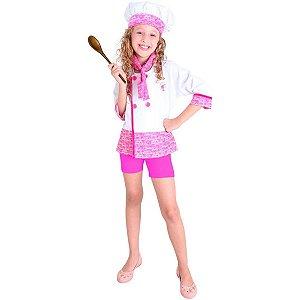 Fantasia Barbie Chef De Cozinha - P