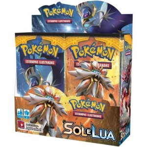 Box Pokémon Sol E Lua