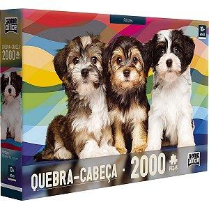 Quebra-Cabeça Game Office Filhotes - 2000 Peças
