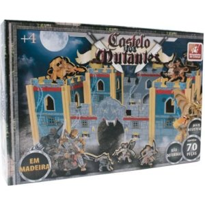 Castelo dos Mutantes de Madeira - Brincadeira de Criança